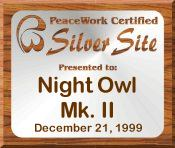 PeaceWork Certified Silver Site