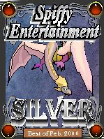 Spiffy Entertainment Silver Excellence Award, Feb. 2000
