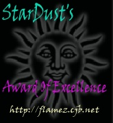 Stardust's Award of Excellence